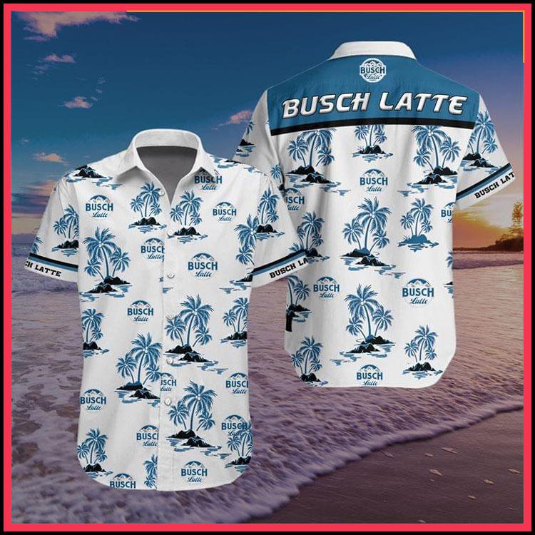 Busch latte hawaiian shirt6