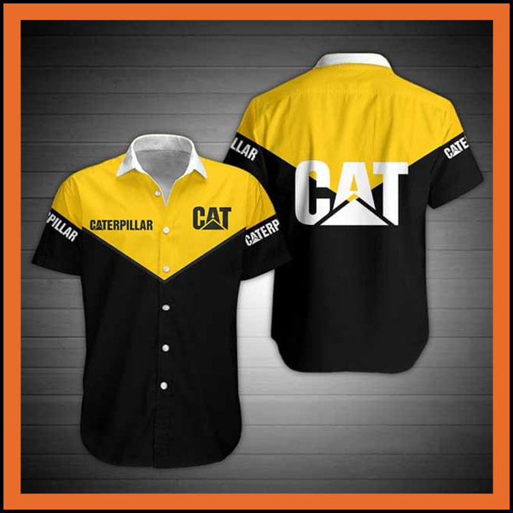 Caterpillar hawaiian shirt3 1