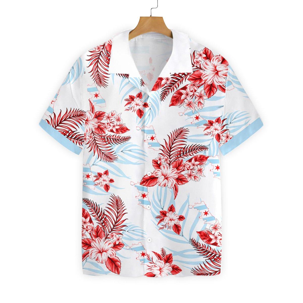 Chicago Proud Hawaiian Shirt