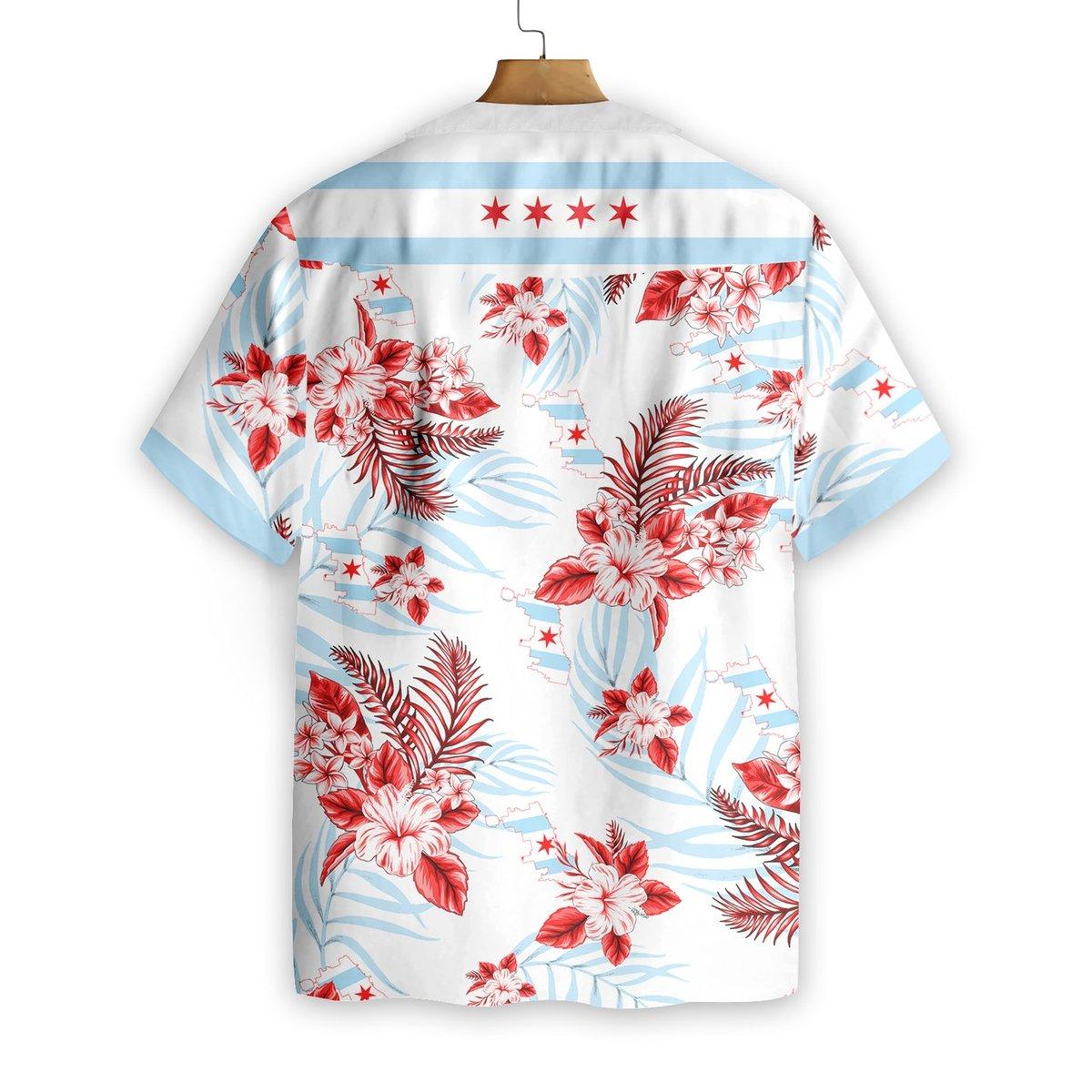 Chicago Proud Hawaiian Shirt1