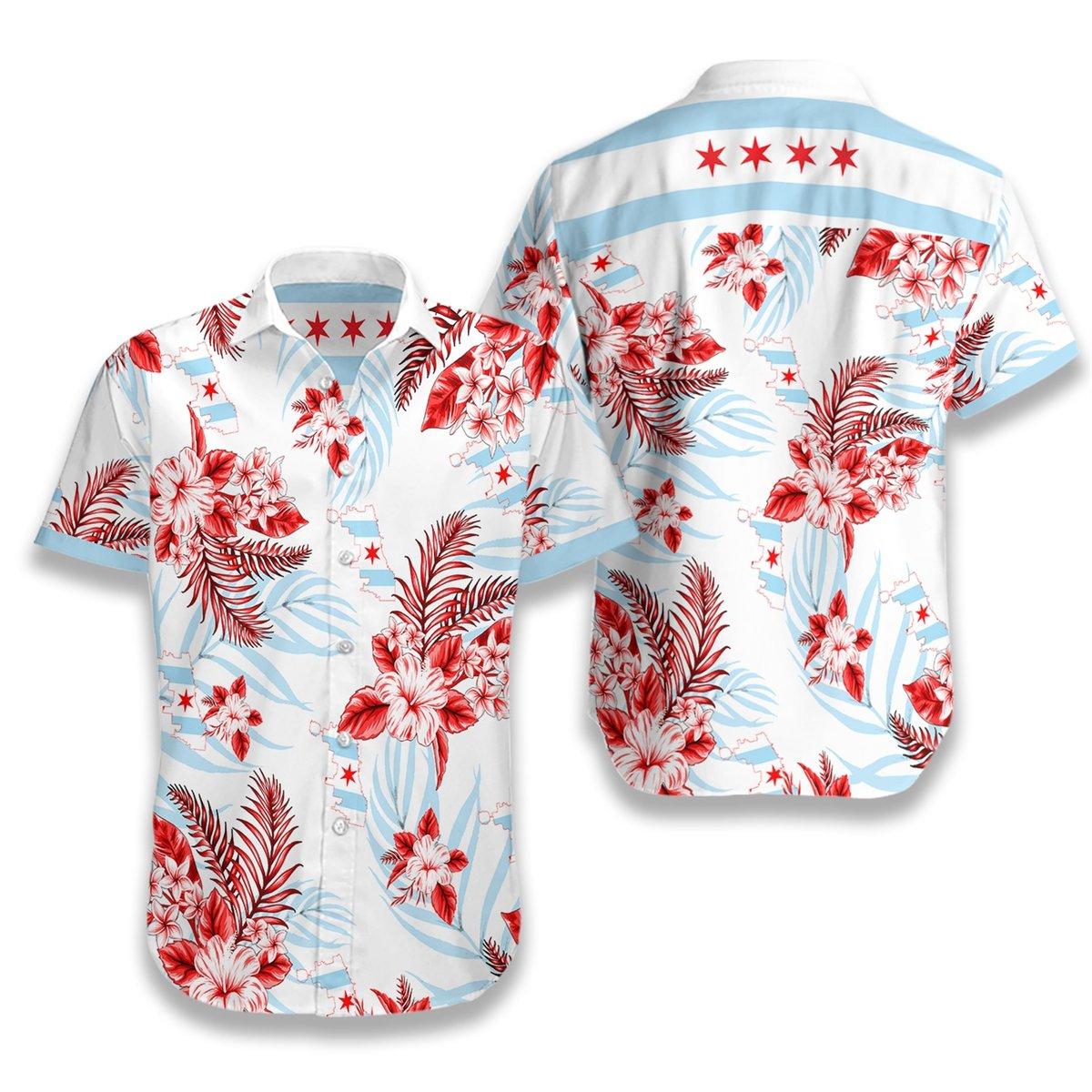 Chicago Proud Hawaiian Shirt2 1