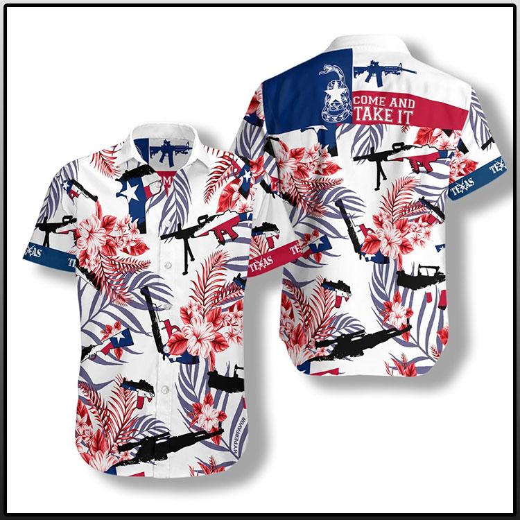 Come And Take It Texas Gun Lover FM Hawaiian Shirt2