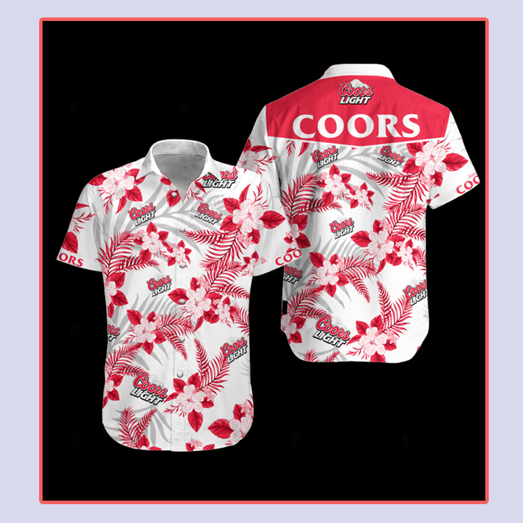 Coors Light Hawaiian Shirt4 1