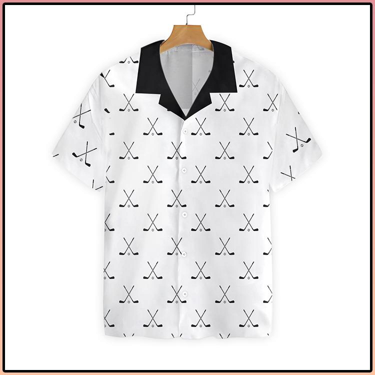 Cross Golf Clubs Pattern Hawaiian Shirt3