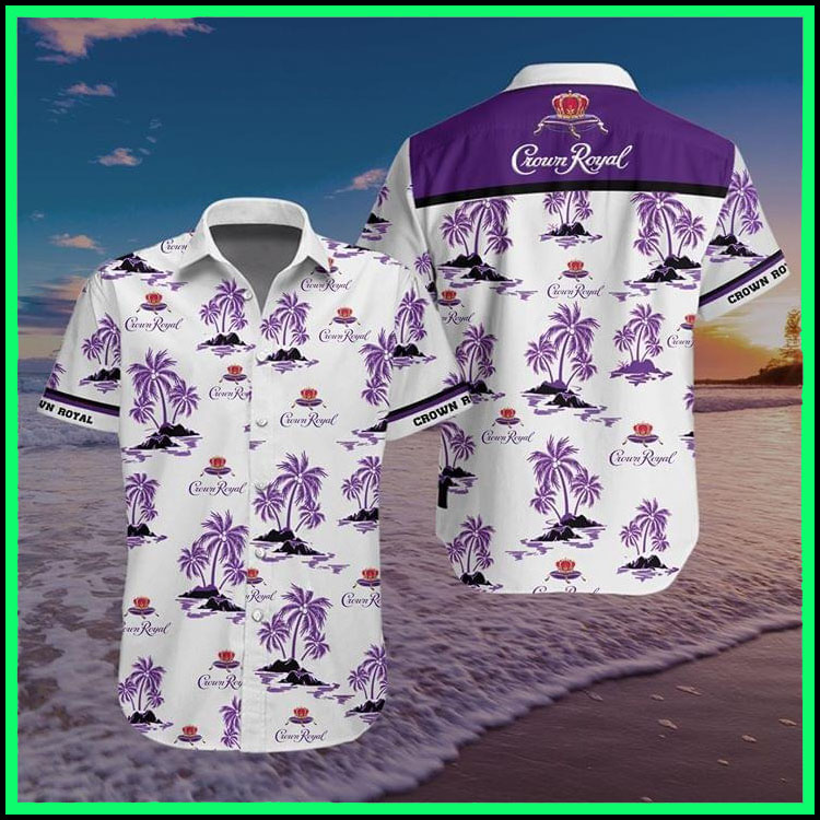 Crown royal hawaiian shirt6