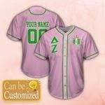 Delta Zeta Personalized Unisex Baseball Jersey