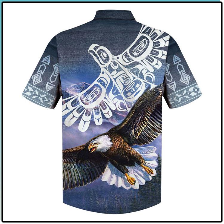 Eagle All Over Print Indigenous Hawaiian Shirt1