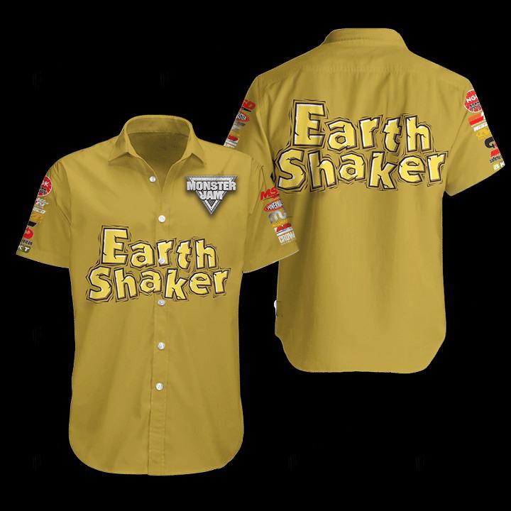 Earthshaker Hawaiian Shirt 1
