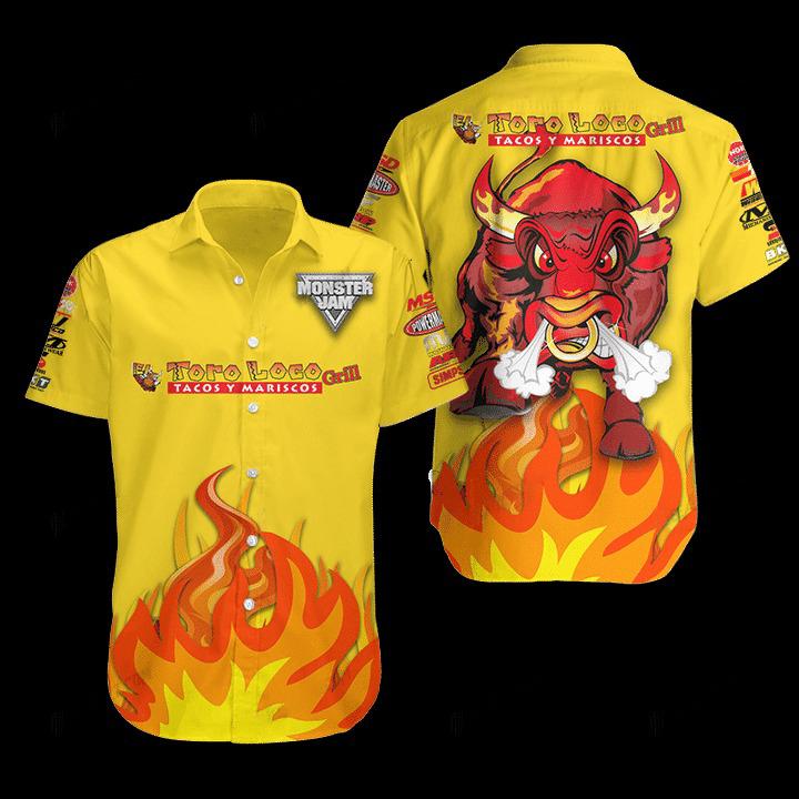 El Toro Loco Hawaiian Shirt 1