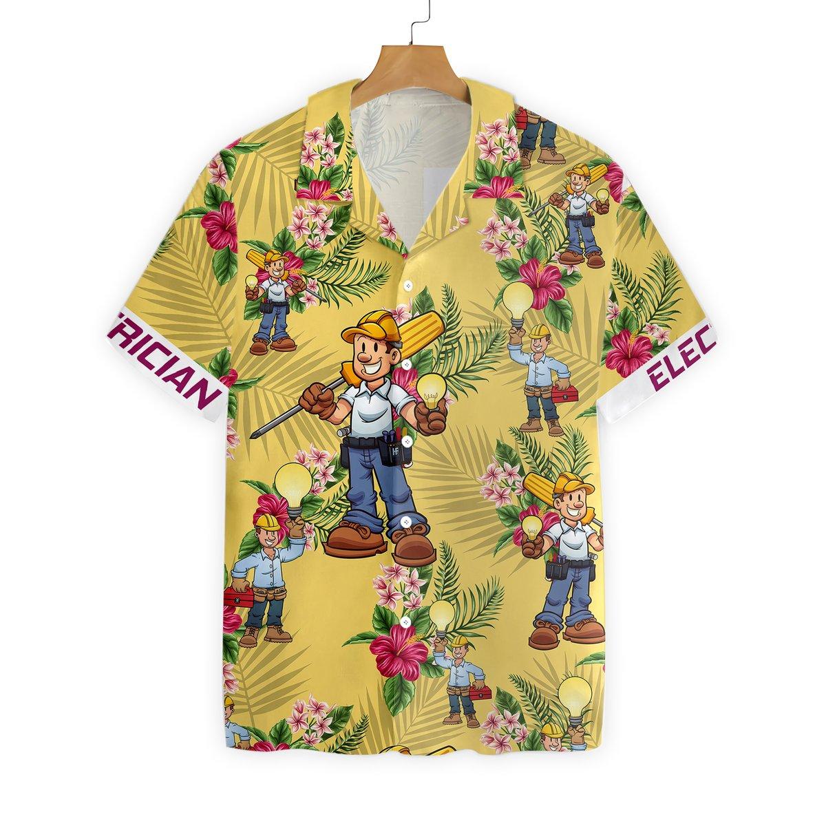 Electrician Hawaiian Shirt