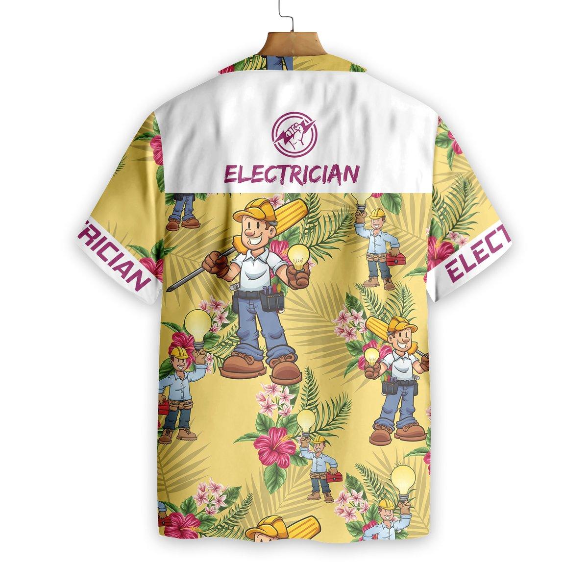 Electrician Hawaiian Shirt2