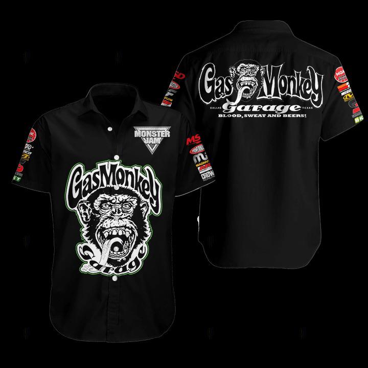 Gas Monkey Hawaiian Shirt 1