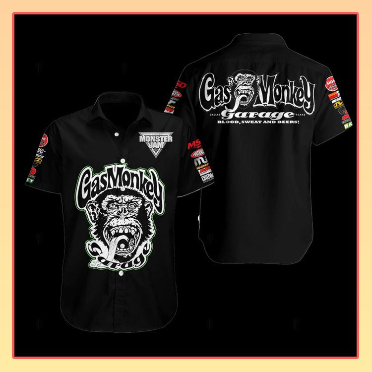 Gas Monkey Hawaiian Shirt2 1