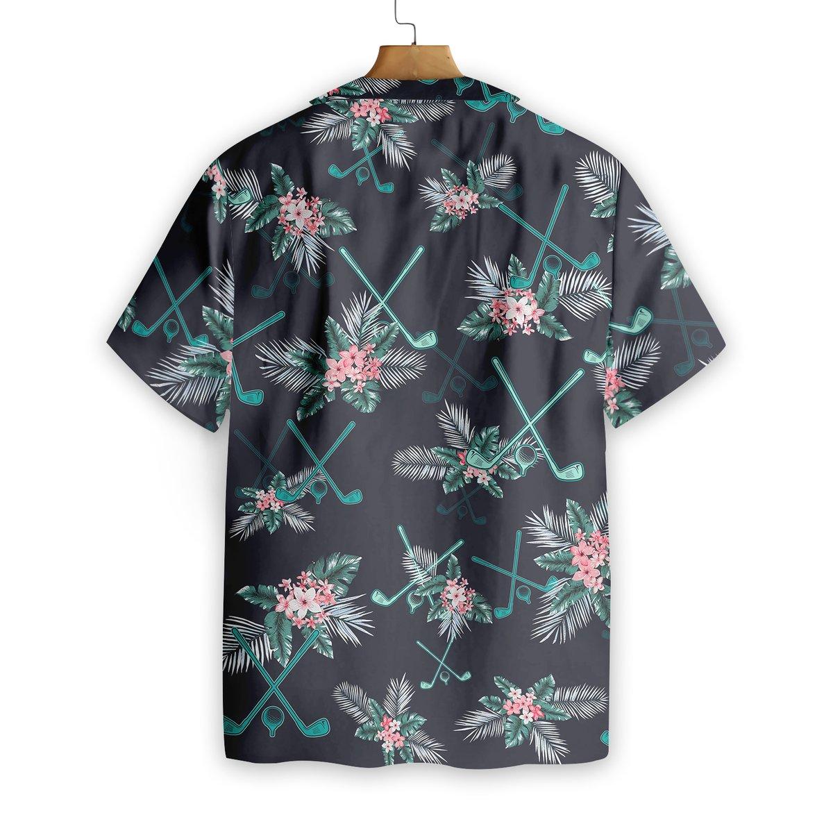 Golf Tropical Hawaiian Shirt2