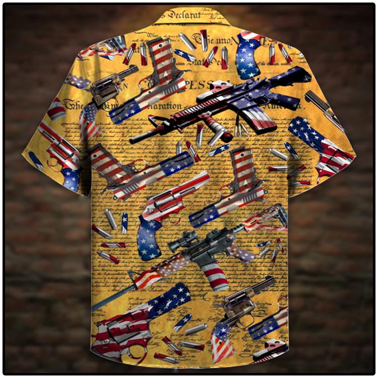 Gun Self Defense Is Our Unisex Hawaiian Shirt2
