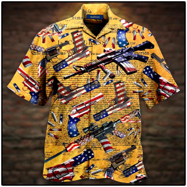 Gun Self Defense Is Our Unisex Hawaiian Shirt4