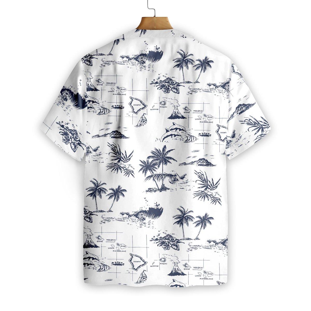 Hawaii Island Hawaiian Shirt1