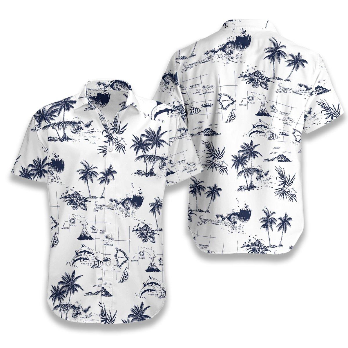 Hawaii Island Hawaiian Shirt2