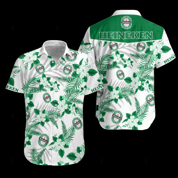 Heineken Hawaiian Shirt 1