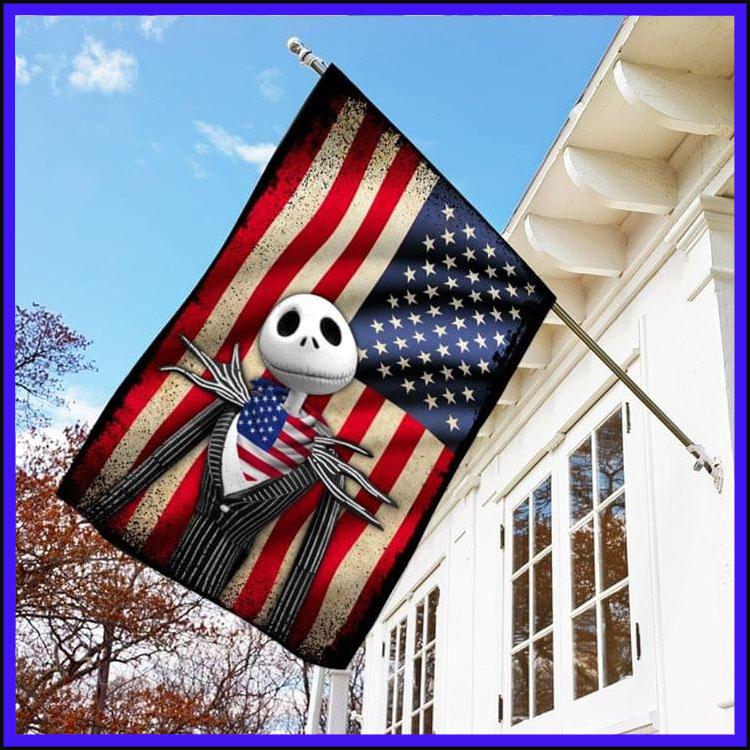 Jack Skellington American flag3