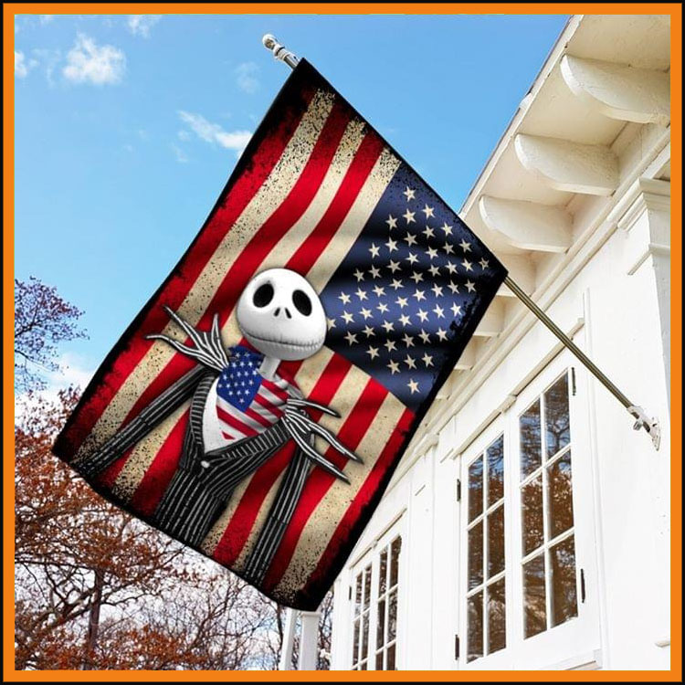 Jack Skellington American flag7