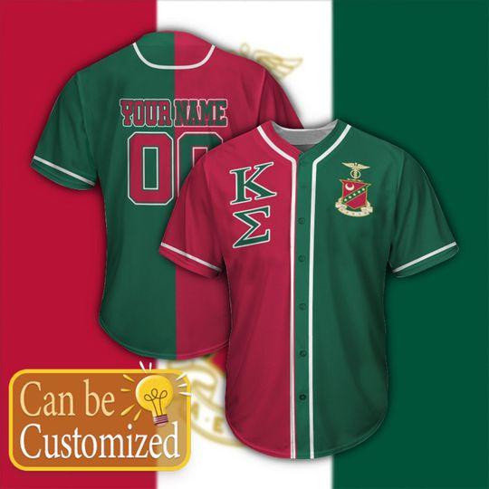 Kappa Sigma Personalized Baseball Jersey1
