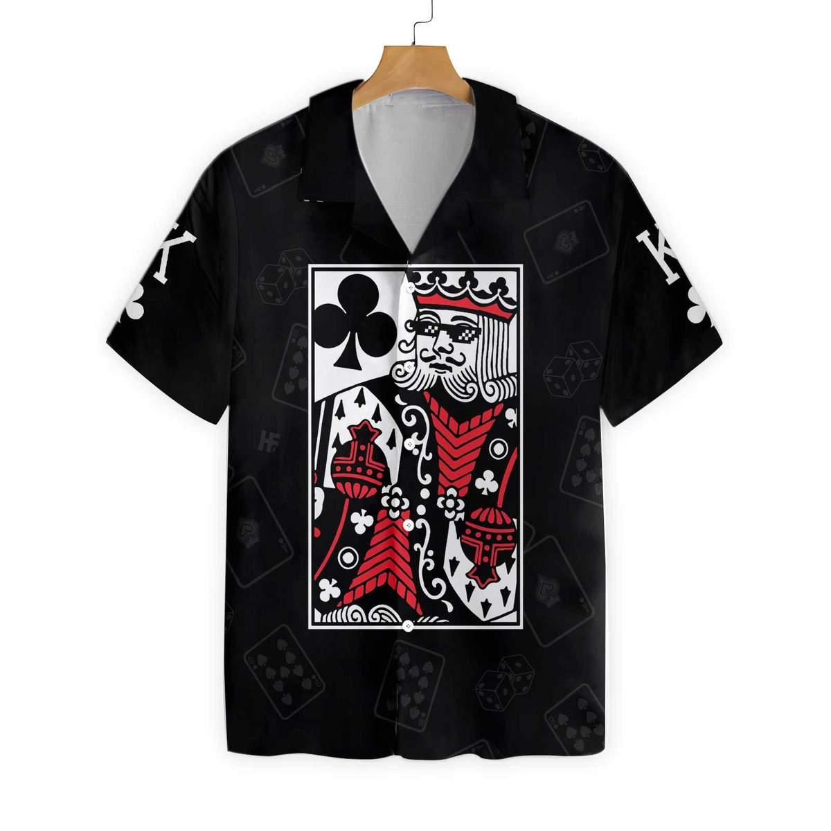 King Card Hawaiian Shirt 1