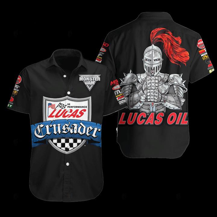 Lucas Oil Hawaiian Shirt 1