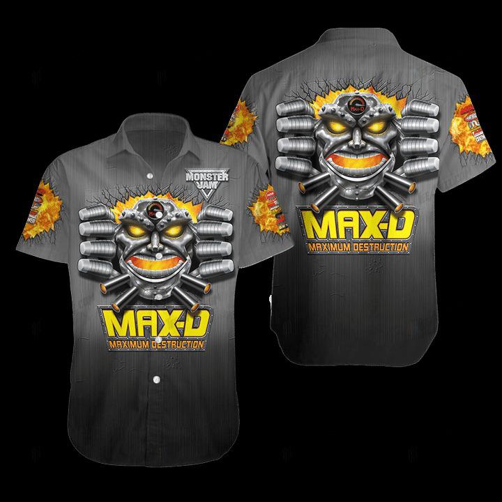 Maximum Destruction Hawaiian Shirt 1
