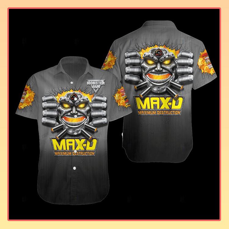 Maximum Destruction Hawaiian Shirt3 1