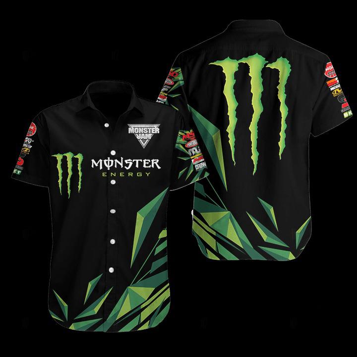 Monster Energy Hawaiian Shirt 1