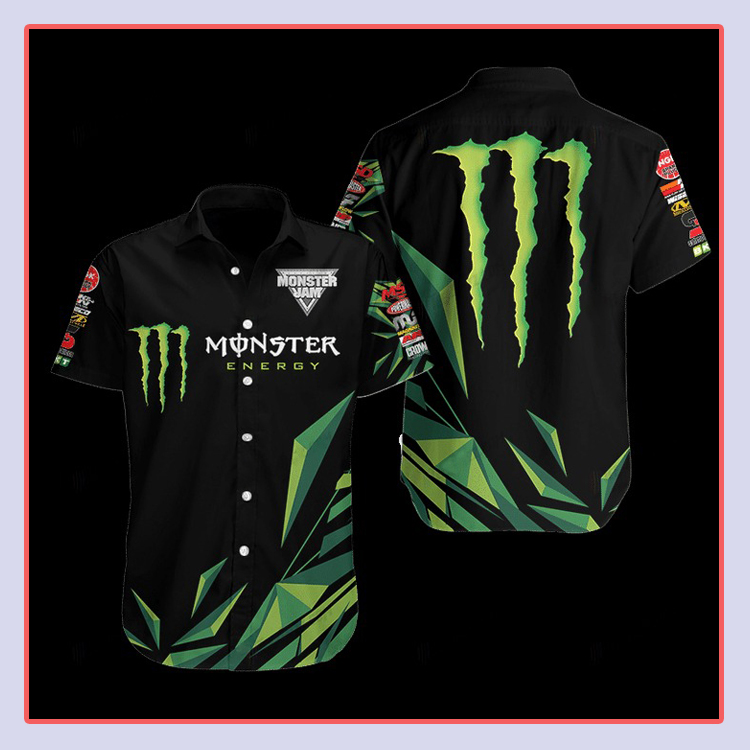 Monster Energy Hawaiian Shirt4 1