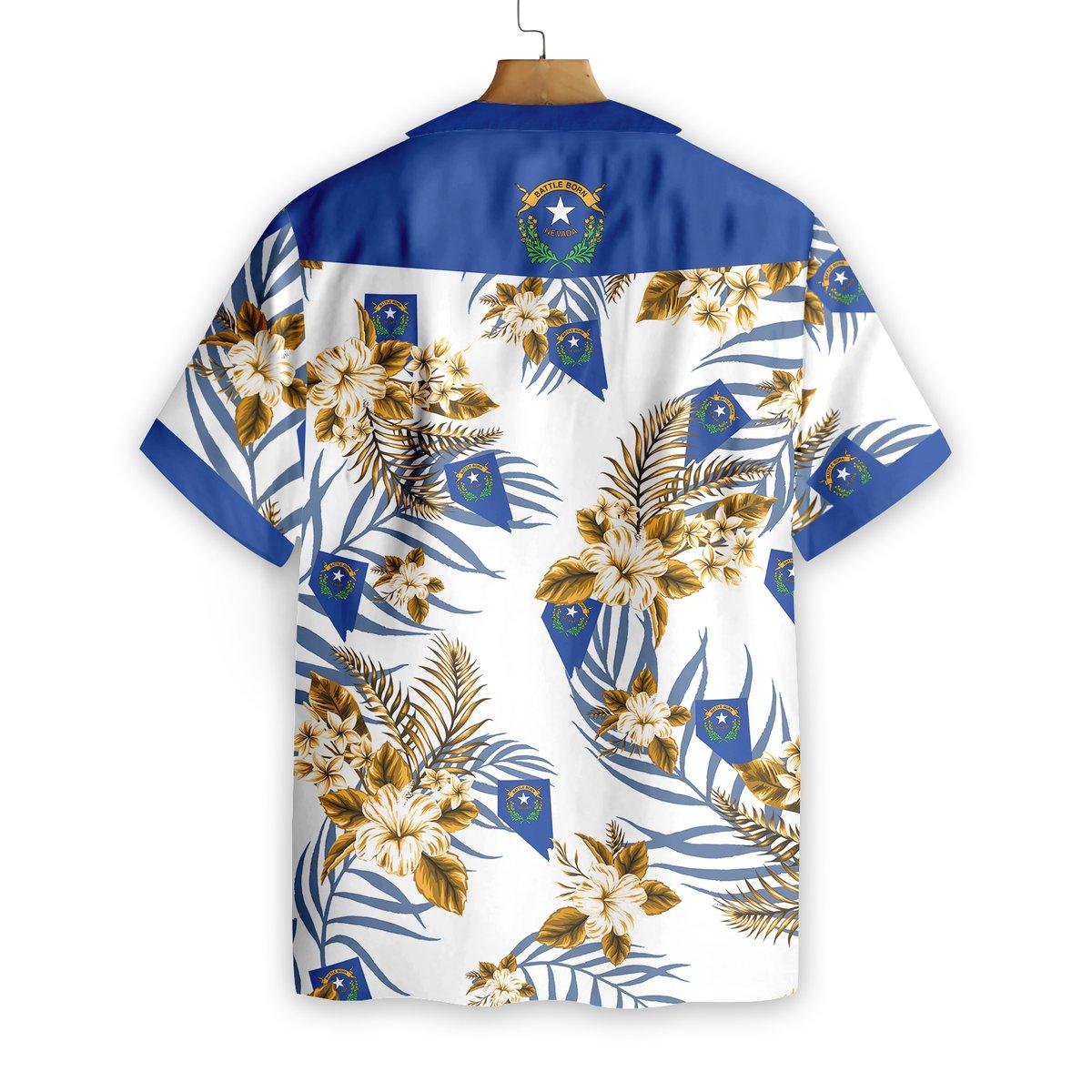 Nevada Proud Hawaiian Shirt1