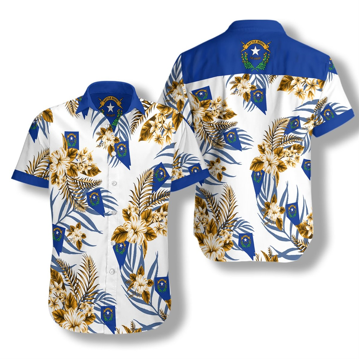 Nevada Proud Hawaiian Shirt2