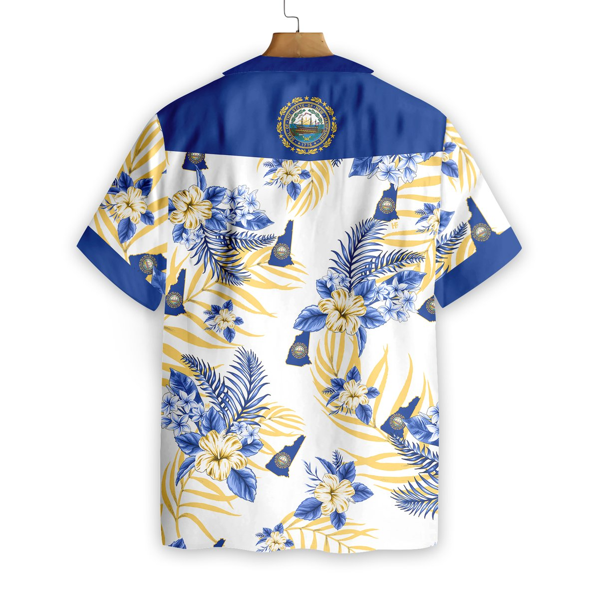New Hampshire Proud Hawaiian Shirt1