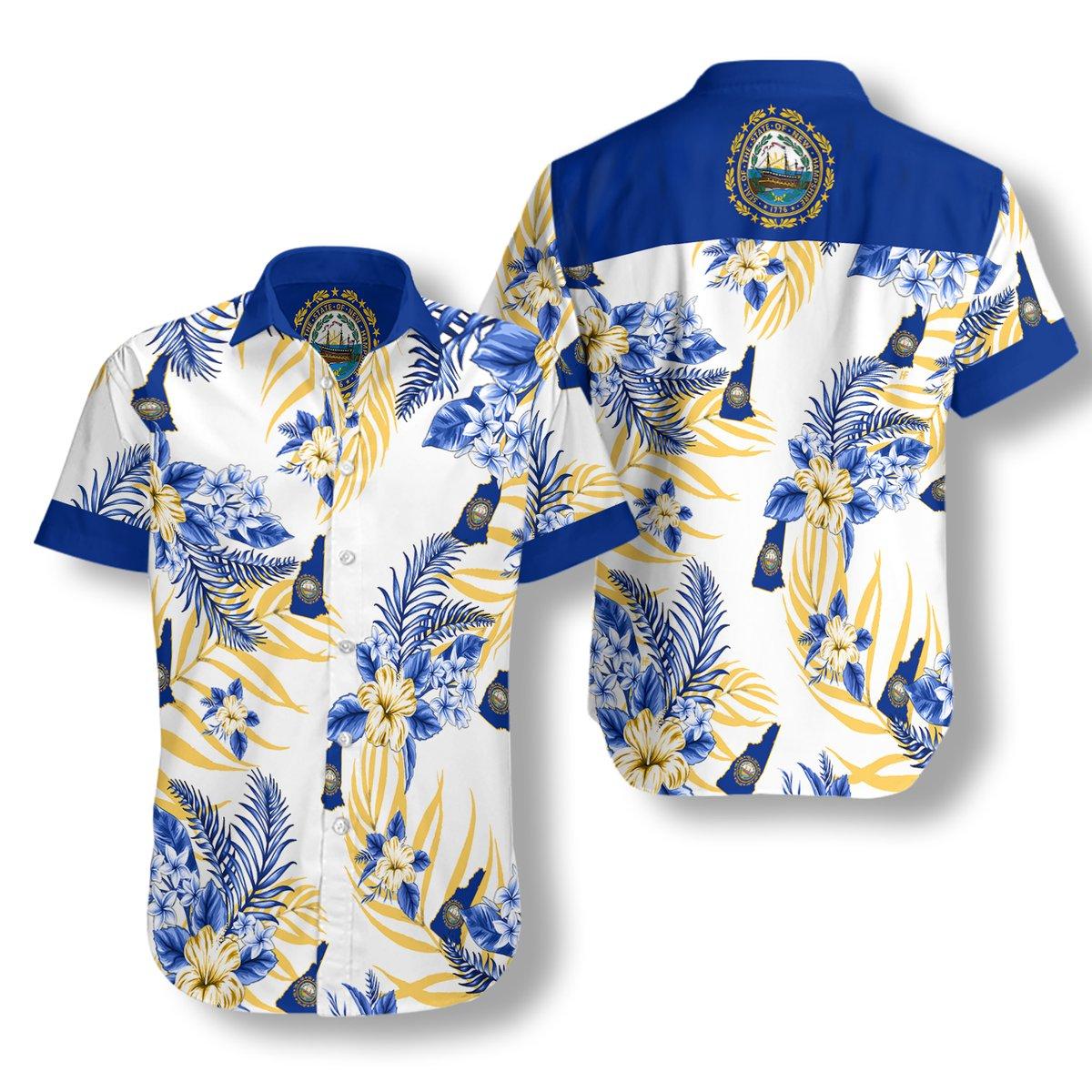New Hampshire Proud Hawaiian Shirt2