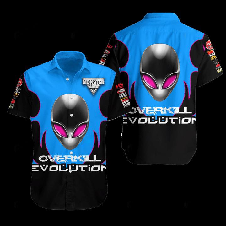 Overkill Evolution Hawaiian Shirt 1