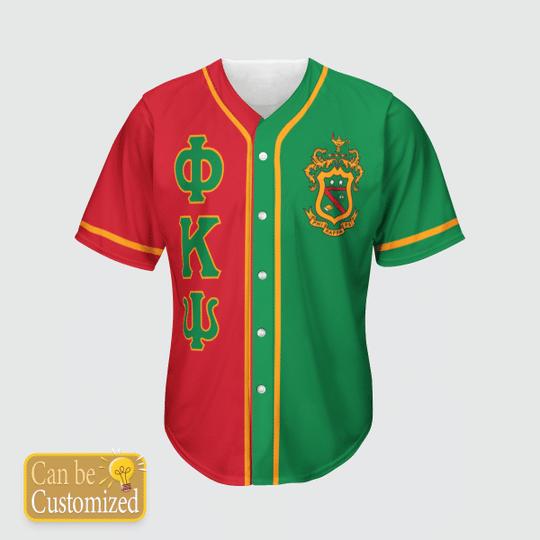 Phi Kappa Psi Personalized Baseball Jersey3