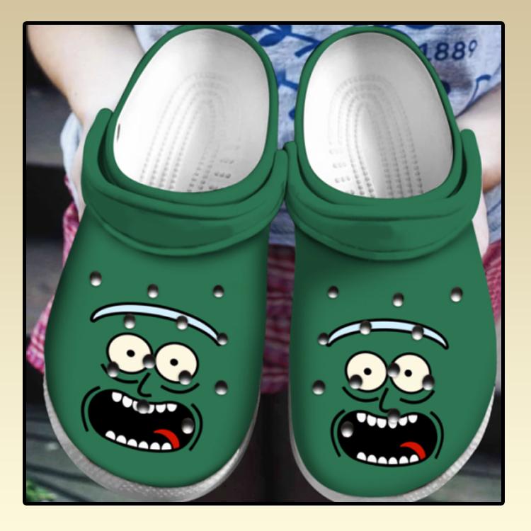 Pickle Rick Crocs Clog Shoes4 4 1