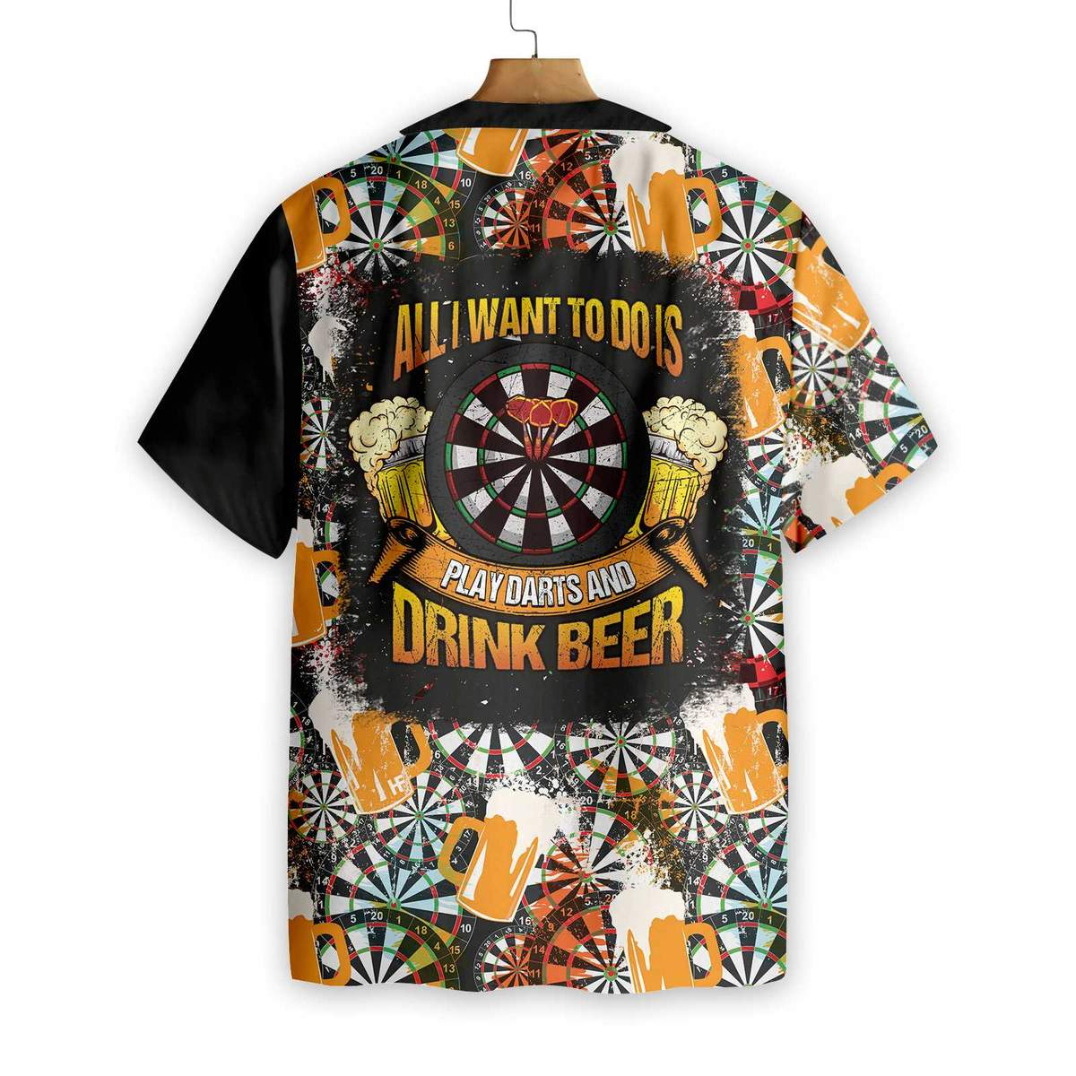 Play Darts And Drink Beer V1 Hawaiian Shirt1