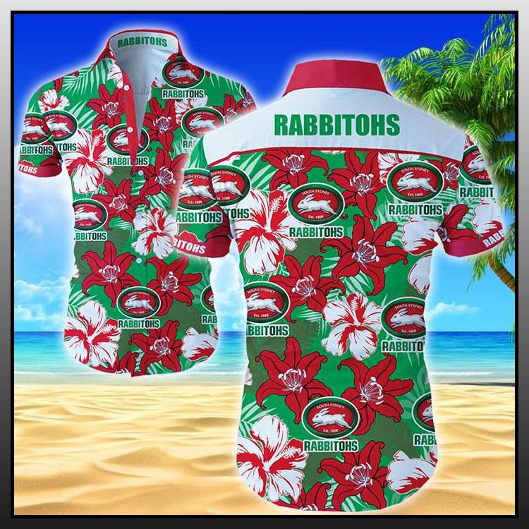 Rabbitohs hawaiian shirt1