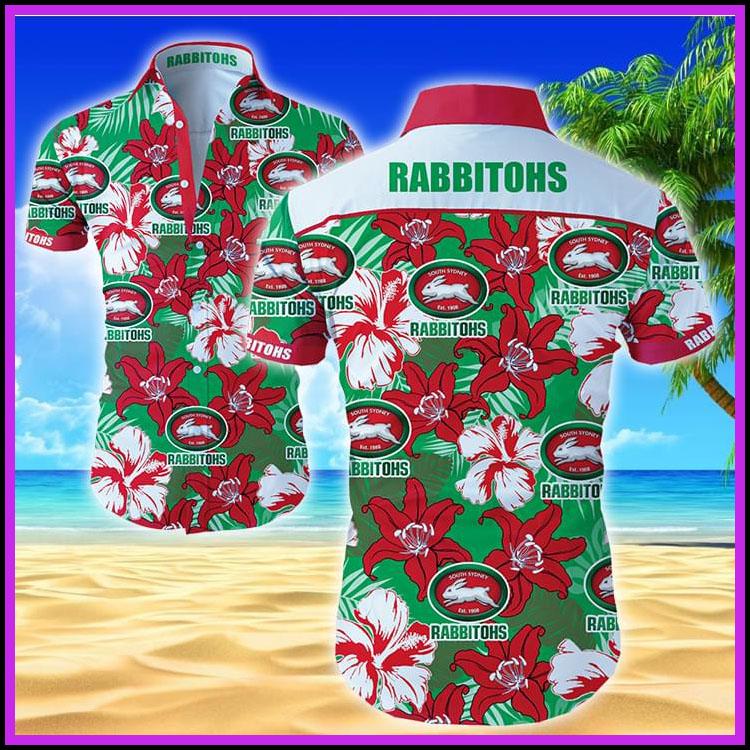 Rabbitohs hawaiian shirt2