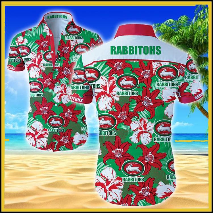 Rabbitohs hawaiian shirt6