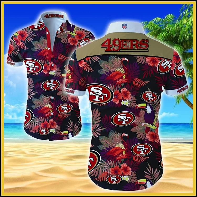 San Francisco 49ers hawaiian shirt2