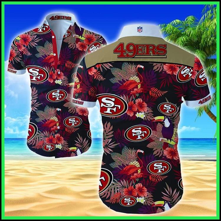San Francisco 49ers hawaiian shirt3