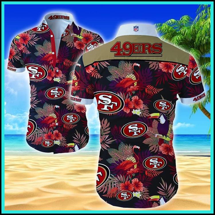 San Francisco 49ers hawaiian shirt4