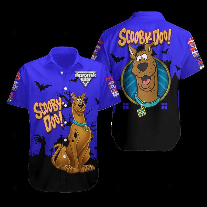 Scooby Doo Hawaiian Shirt 1