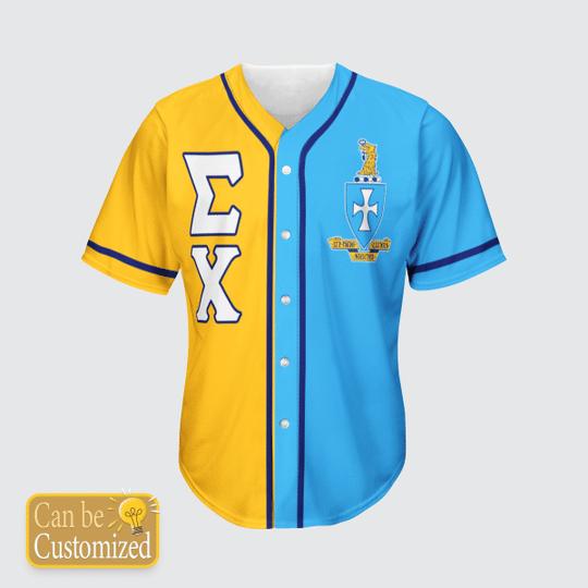 Sigma Chi Personalized Baseball Jersey3