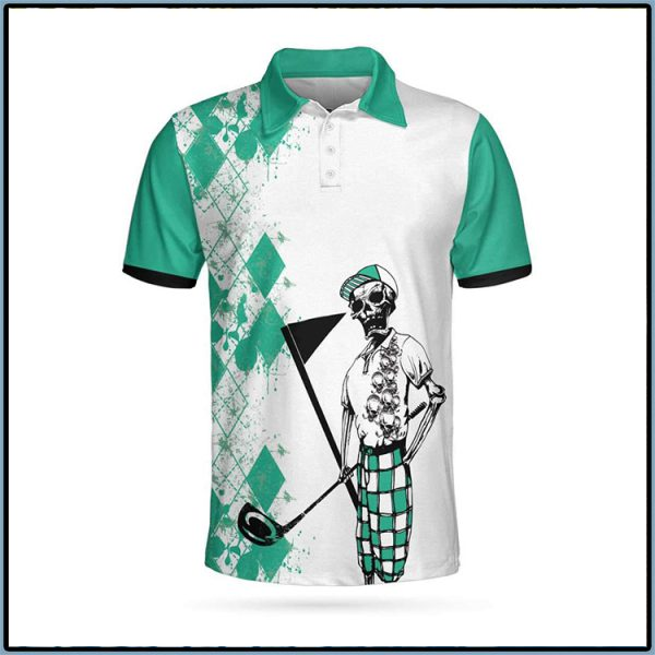 Skeleton My Green Jacket Is In The Wash Polo Shirt1 600x600 1