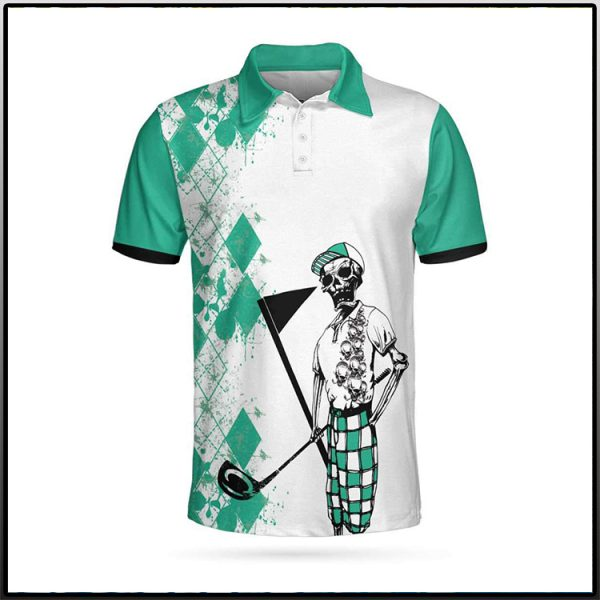 Skeleton My Green Jacket Is In The Wash Polo Shirt3 600x600 1